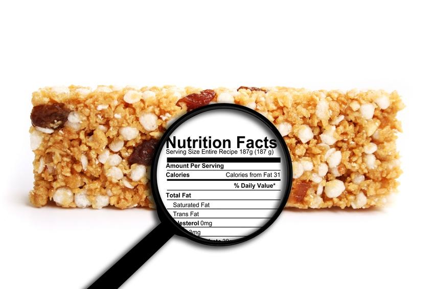 Consumo diario de calorias recomendado