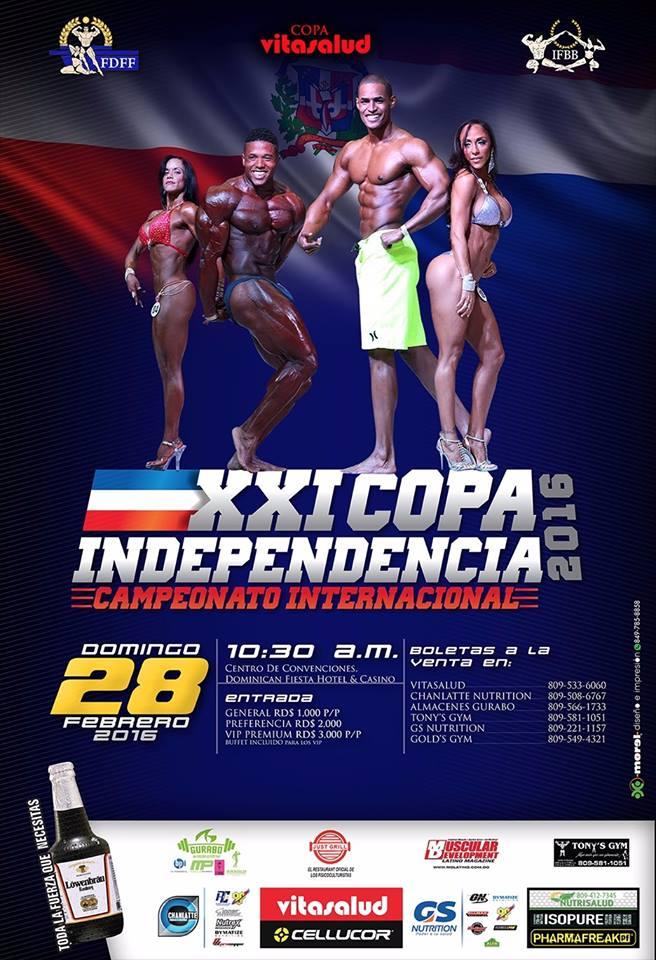 afiche evento Copa 2016