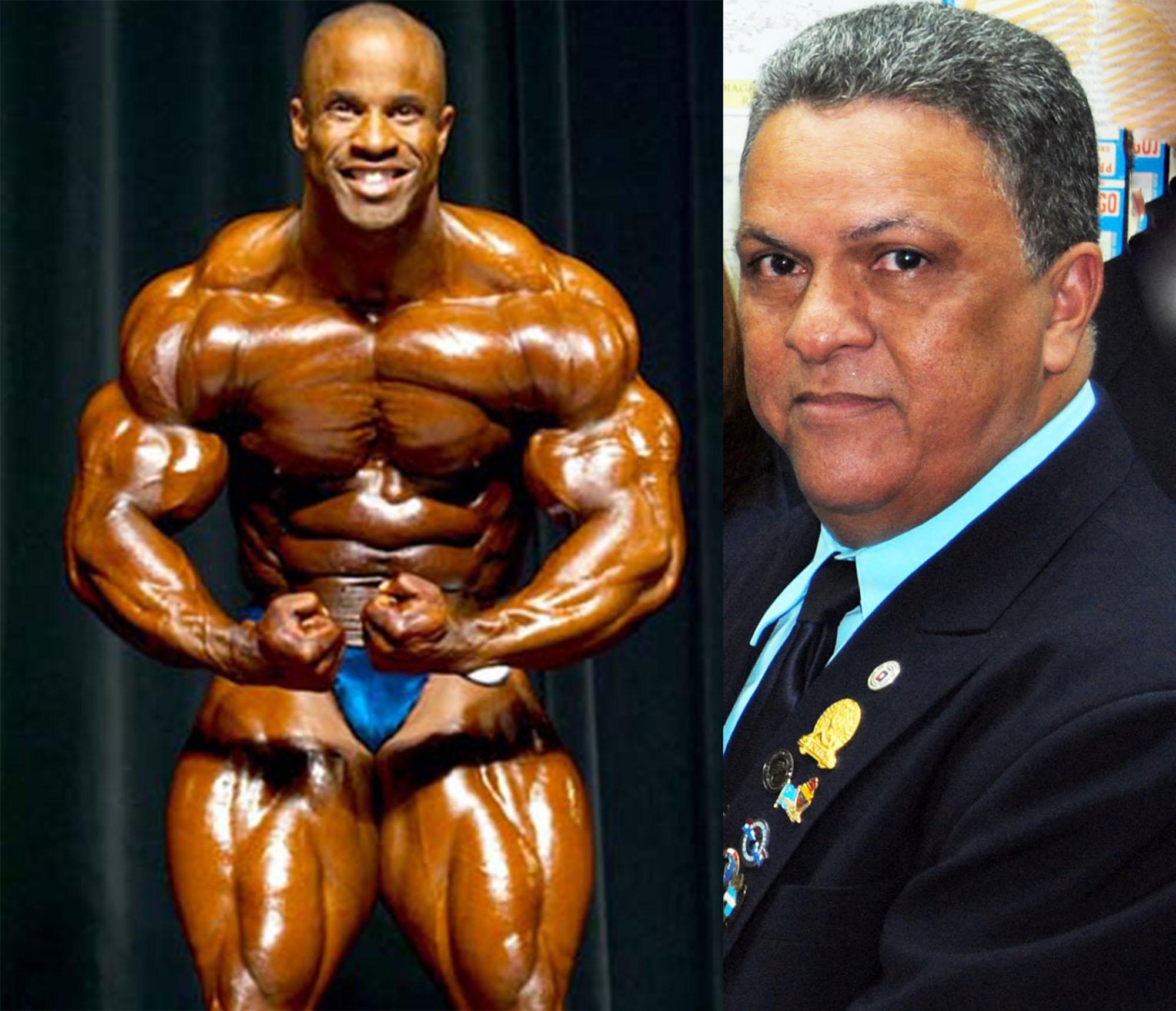 Víctor Martínez y Tony Peña