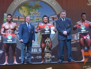 2do dia del Mr America IFBB Cup 2018 Categoria Bodybuilding @ Bogota, Colombia