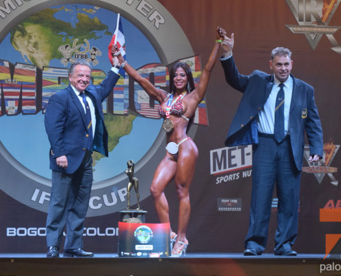 2do dia del Mr America IFBB Cup 2018 Categoria Bikini y Wellness @ Bogota, Colombia
