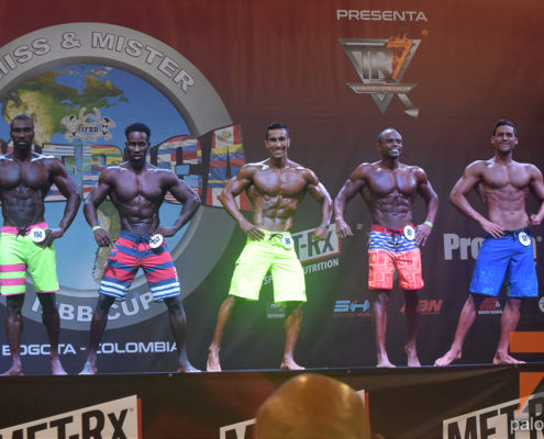 2do dia del Mr America IFBB Cup 2018 Categoria Men's Physique y Musculados @ Bogota, Colombia
