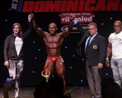 Mr Republica Dominicana 2019 categorias bodybuilding, mens classic physique