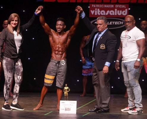 Mr Republica Dominicana 2019 categorias Musculado y Mens physique